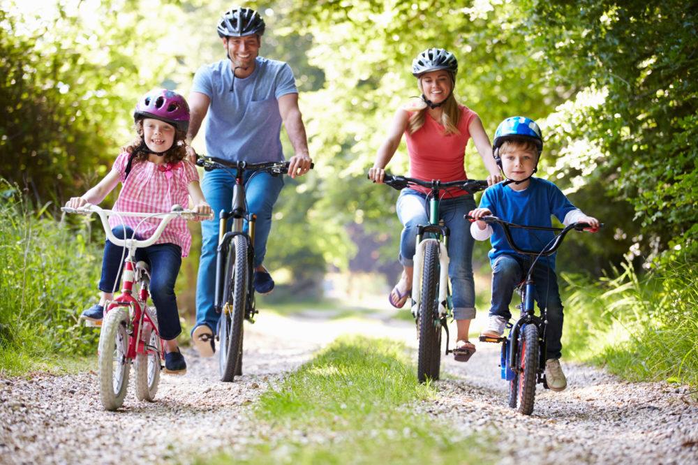 Mitfahren am Fahrrad GROSSE SCHÜTZEN KLEINE